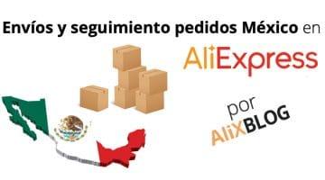 AliExpress Standard Shipping México y otros métodos de envío