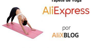 Tapetes de yoga baratos e de qualidade no AliExpress