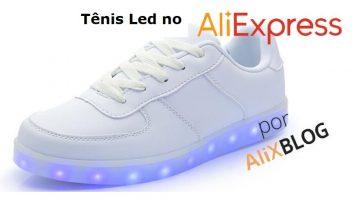 Tênis LED – Guia para comprar barato e com qualidade no AliExpress