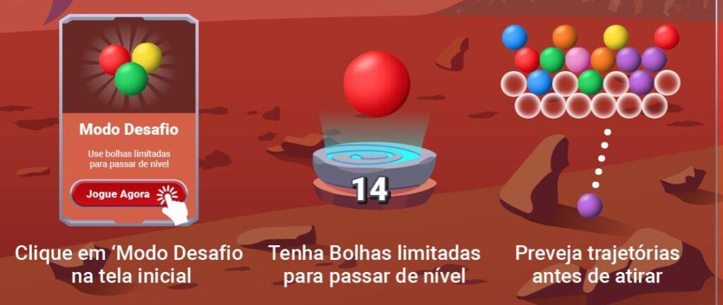 shopee bolhas modo desafio